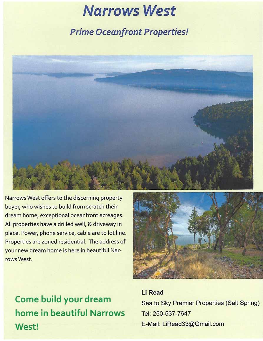 Narrows West Brochure page 1