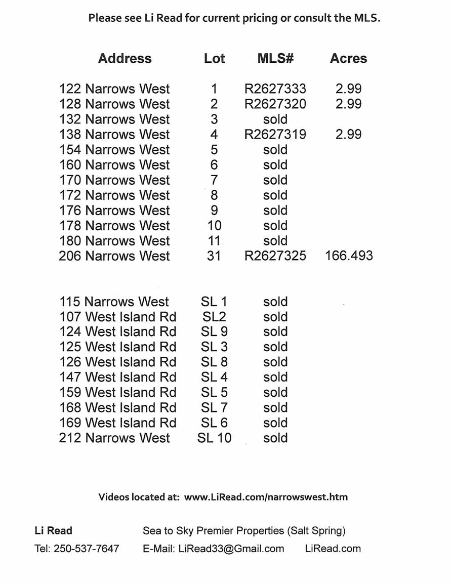 Narrows West Brochure page 3