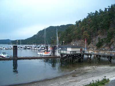 Bedwell Harbour & Poets Cove, Pender Island