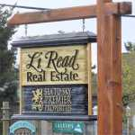Li Read's office roadside sign