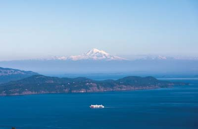 Ocean, Ferry, Mountain View