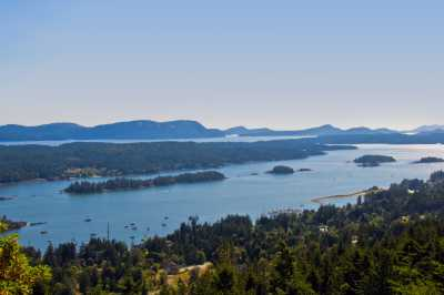 View of Ganges Habour, Salt Spring Island